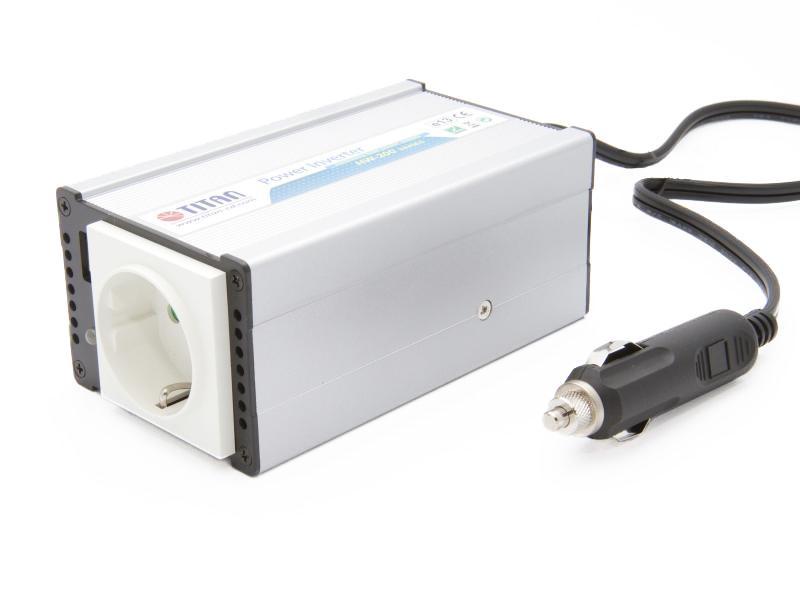 24VDC till 230VAC inverter för lastbil och buss - 200 Watt