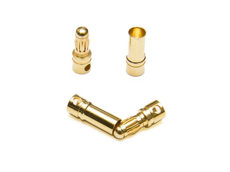 3,5 mm guldkontakter, 5 par