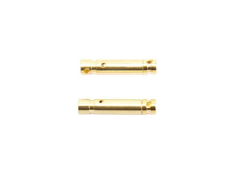 3 mm guldkontakter, 2 par