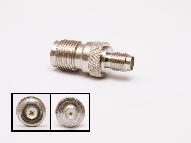 Adapter SMA hona - TNC hona, 50 Ohm