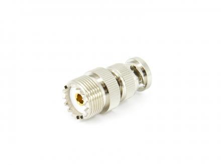 Adapter UHF PL259 SO239 hona till BNC hane