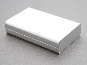 Aluminiumlåda borstad 113x72x25 mm