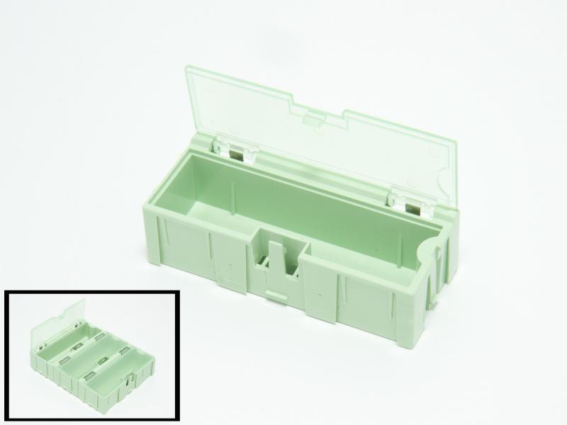 Ask med flipp-flopp-lock stor grön