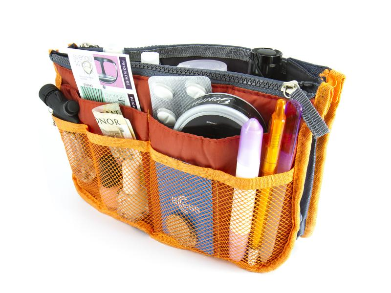 Bag in bag innerväska för handväskor och axelväskor