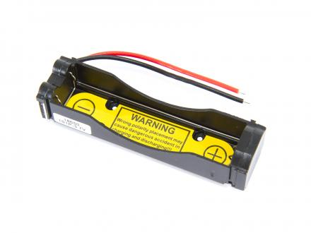 Batterihållare - 1x18650 med PCB 1S1P