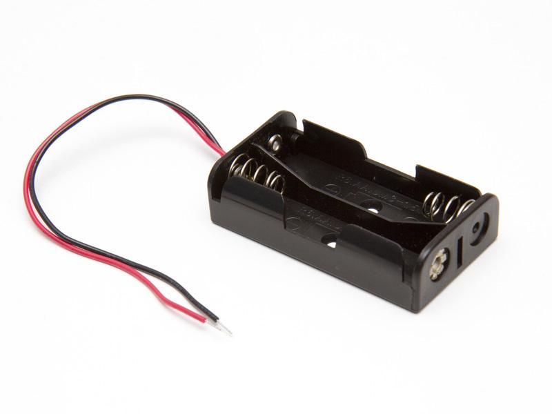 Batterihållare - 2xAA