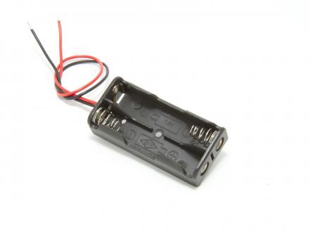 Batterihållare - 2xAAA