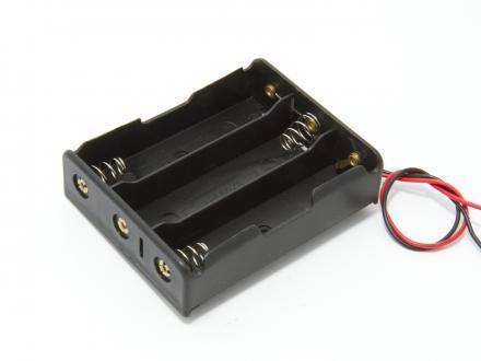 Batterihållare - 3x18650