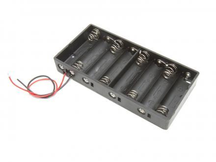 Batterihållare - 8xAA