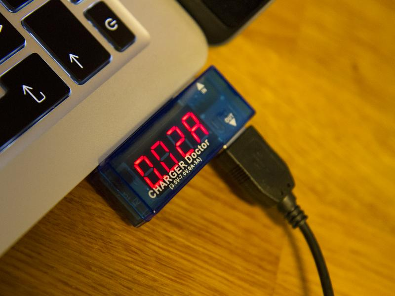 Charger Doctor USB-multimeter