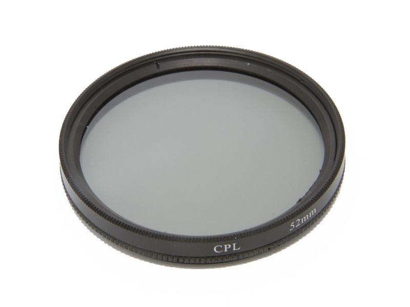 Cirkulärt polarisationsfilter 52mm