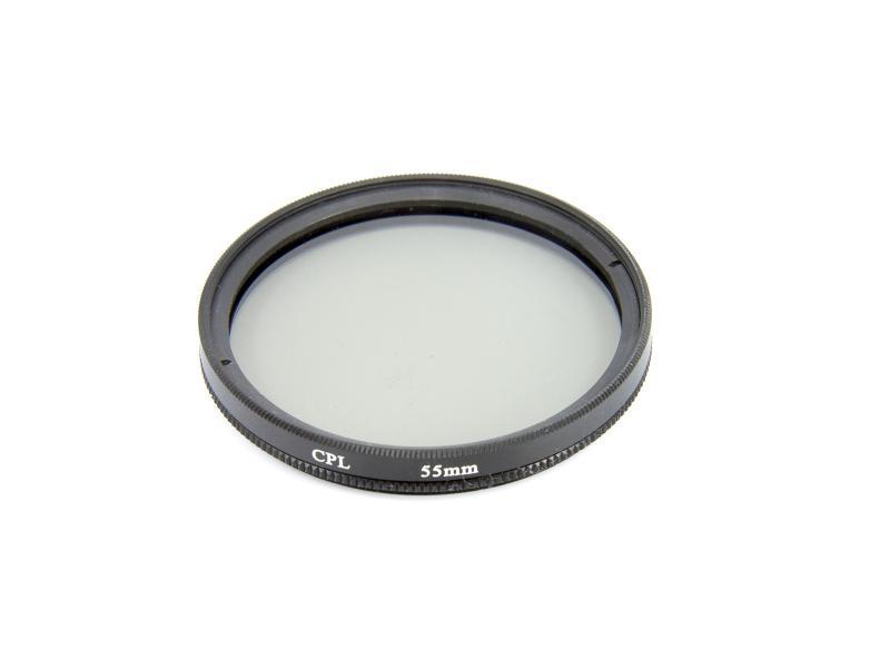 Cirkulärt polarisationsfilter 55mm
