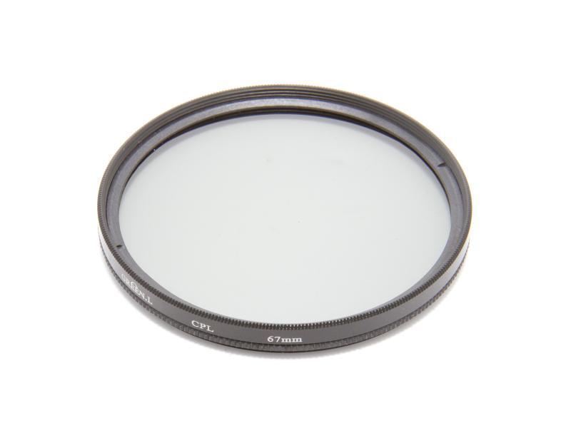Cirkulärt polarisationsfilter 67mm