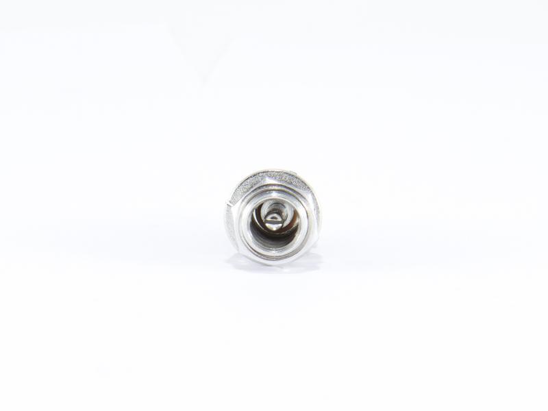 DC-kontakt för chassimontage 2,5 mm hona
