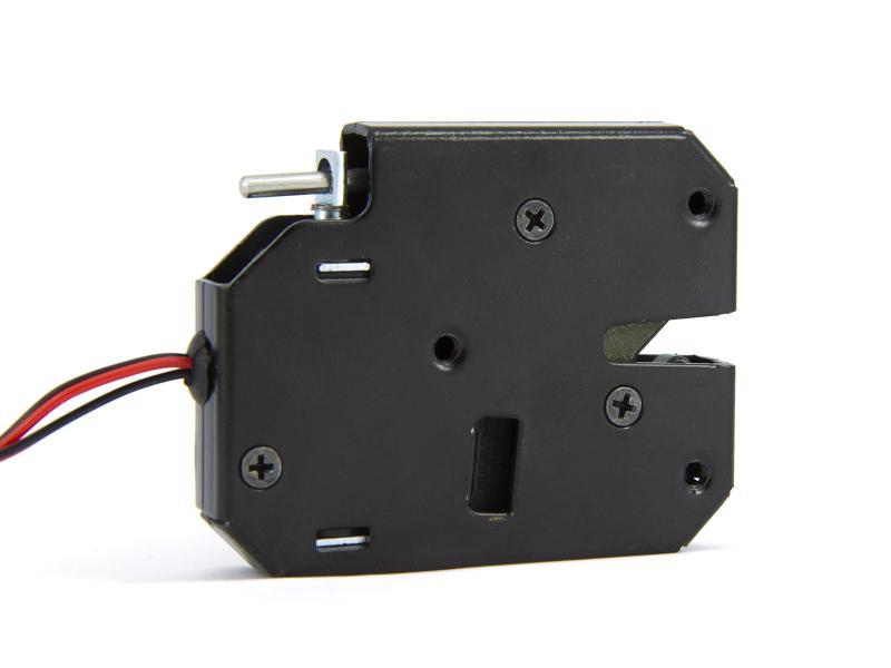 Elektriskt lås, 12V (normalt låst) med status-givare