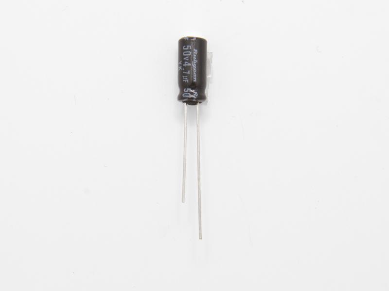 Elektrolytkondensator 4,7uF 50V
