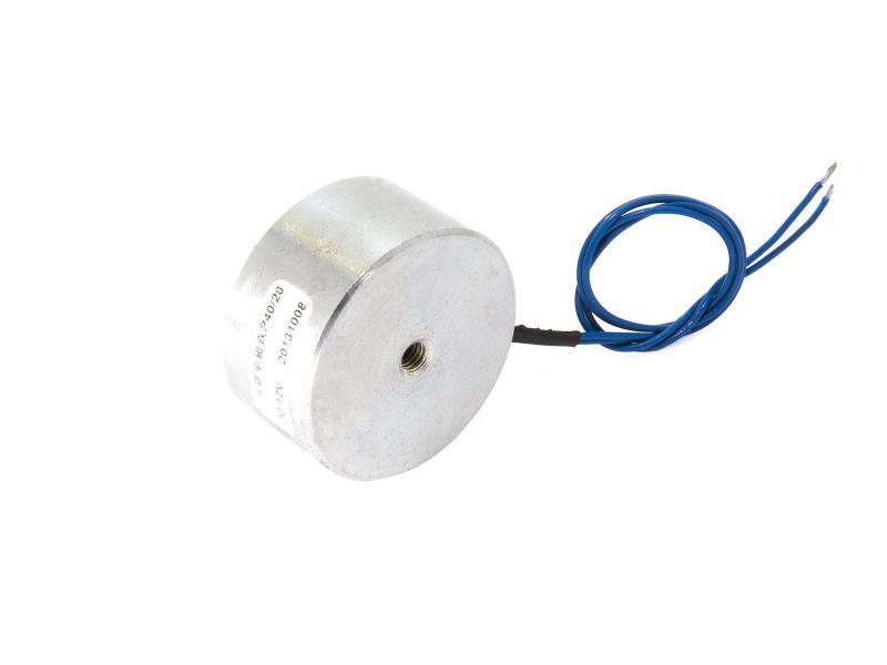 Elektromagnet 20 kg 40x20 mm 12 volt