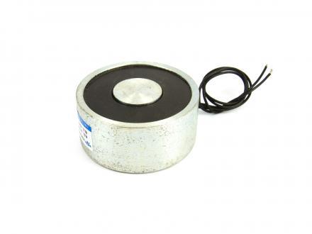 Elektromagnet 80 kg 65x30 mm 24 volt