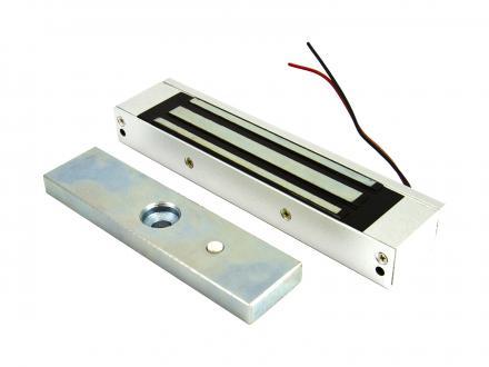 Elektromagnet/dörrhållare 180 kg 12 V