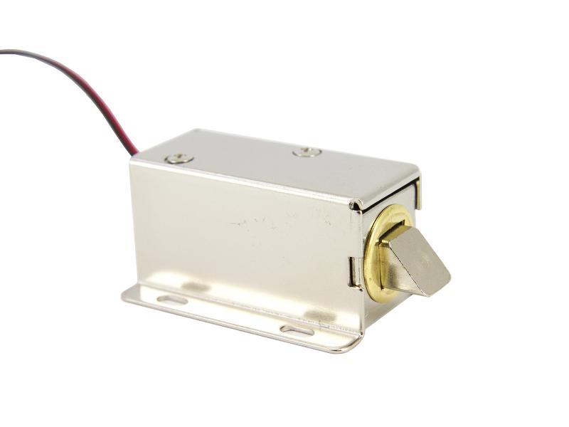 Elektromagnet-lås till skåp m.m.