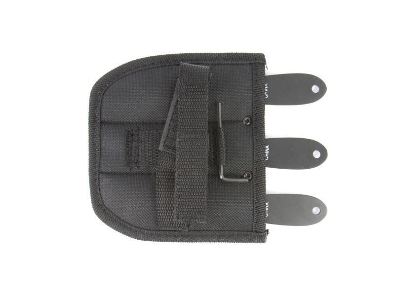 Fury Ninja adjustable weight kastknivar, 3-pack