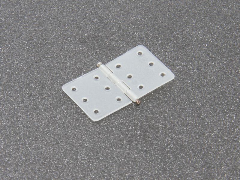 Gångjärn nylon 16x28,5mm