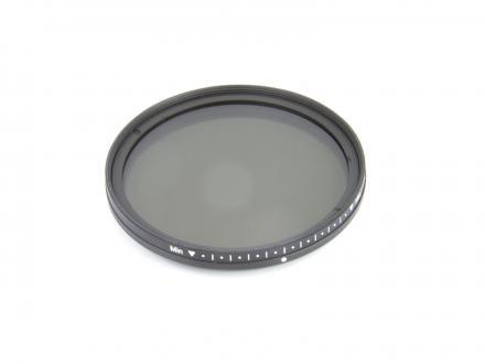 Gråfilter NDx2-400 ställbart 58mm