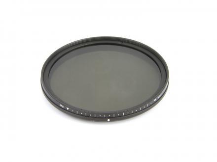 Gråfilter NDx2-400 ställbart 67mm