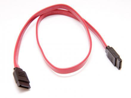 Hårddiskkabel rak SATA/SATA2 - 50 cm