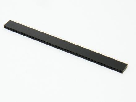 Hylslist, 40pin, 2,54 mm delning
