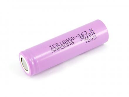ICR18650-26J Samsung li-ion 3,6 v 2600mAh hög ström