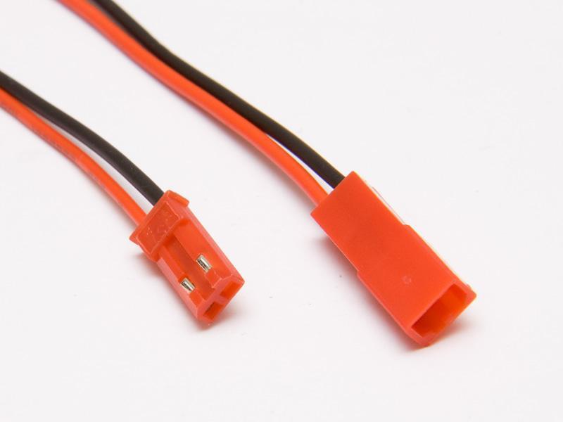 JST-kabel, 1hane + 1 hona, 15cm