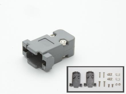 Kåpa för 9pol D-Sub kontaktdon