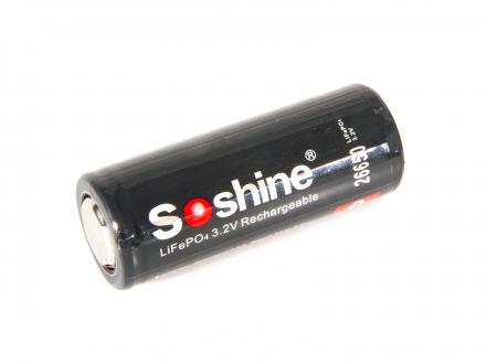 Laddningsbart LiFePO4 26650 3,2 volt
