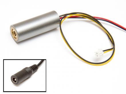 Lasermodul, röd 200mW 230VAC