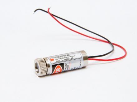 Lasermodul, röd 5 mW med linjelins