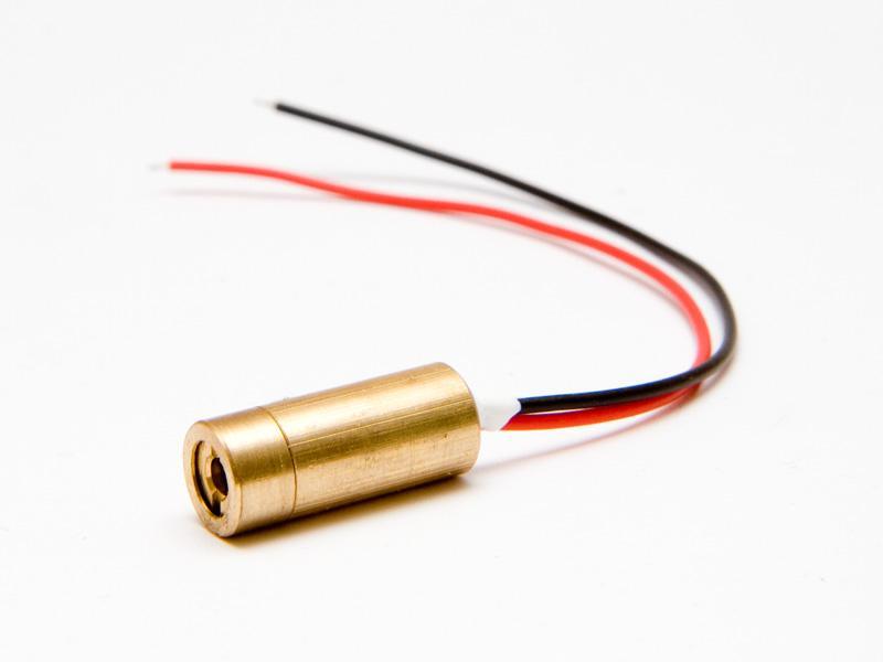 Lasermodul, röd 5 mW mini