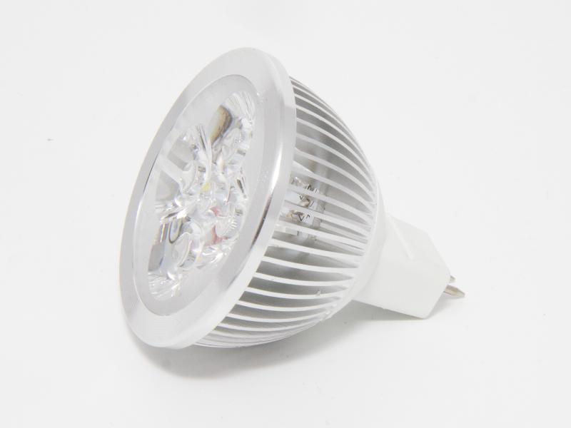 LED-Spotlight 4Watt kallvit, MR16