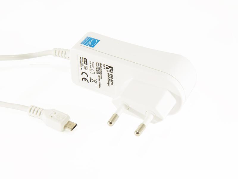 Mobilladdare med micro-USB