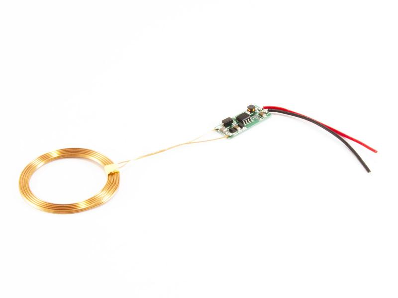 Moduler för trådlös laddning av batteri 5V/600mA