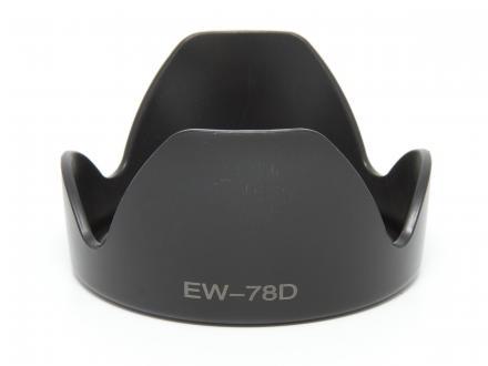 Motljusskydd till Canon EF 28-200 och EF-S 18-200 IS (EW-78D)