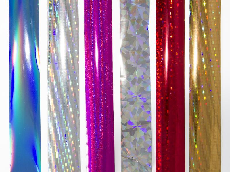 Nagelfolie - Blandade färger