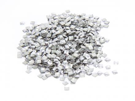 Nagelnitar - Silver, 3x3 mm