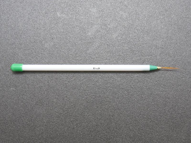 Nagelpenslar - Nail art, Dekorationspenslar - 3st