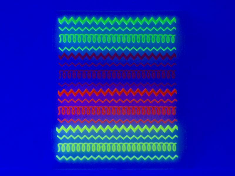 Nagelstickers - Neon band, flouroserande