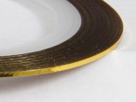 Nageltejp - Guld