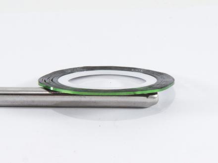 Nageltejp - Mörkgrön metallic