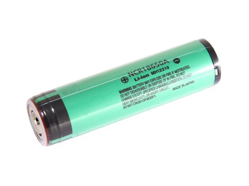 NCR18650A Panasonic Litiumbatteri  3,6 v 3070mAh