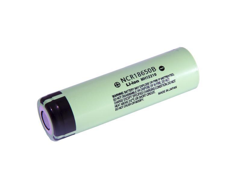 NCR18650B Panasonic Litiumbatteri  3,6 v 3350mAh