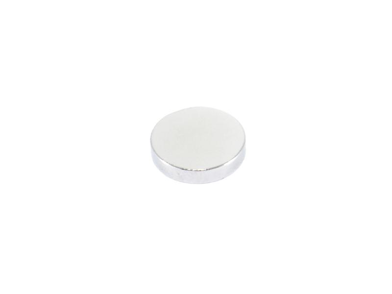 Neodymmagnet cirkulär D10xT2 mm